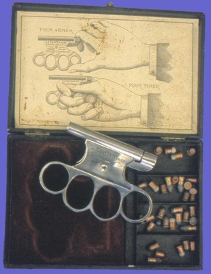 Пистолет-кастет Le Centenaire