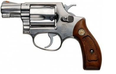 Smith & Wesson J frame revolver