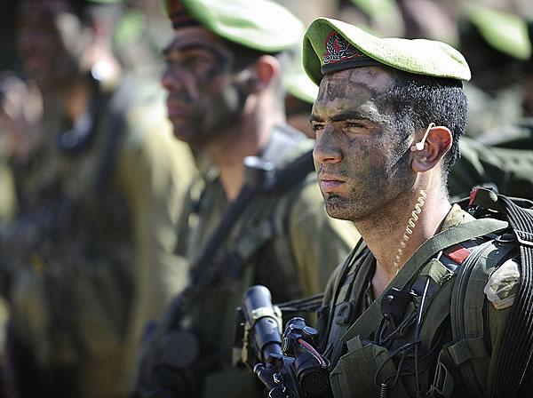 Старший лейтенант бригады «Нахаль».