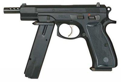 Пистолет CZ75 с возможностью ведения автоматического огня