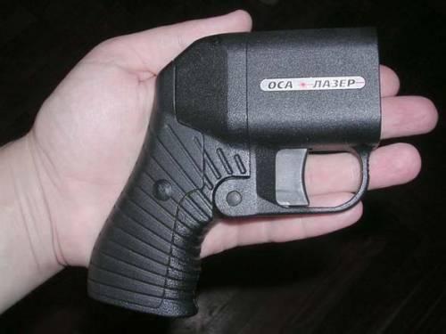 Бесствольный пистолет «Оса»