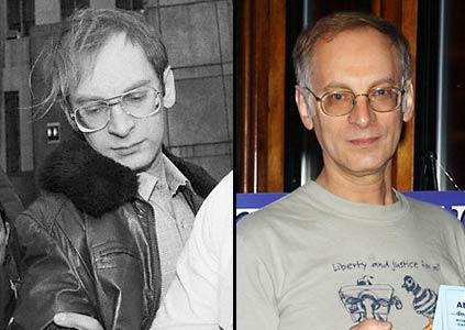 Бернард Гетц в 1985 году и пару лет назад