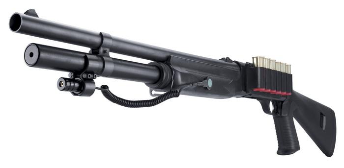 Ружьё с лазерным целеуказателем