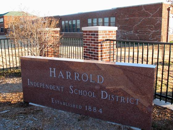 School in Harrold