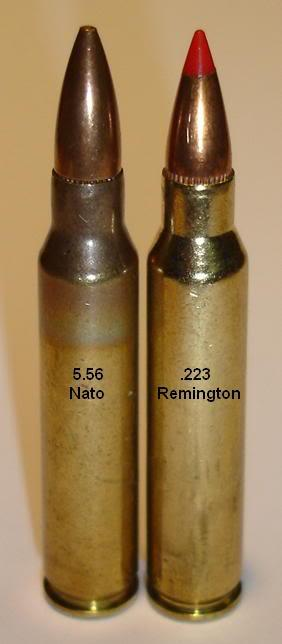 What is the Difference Between .223 and 5.56?