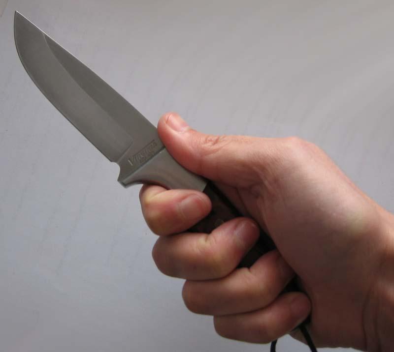 Нож не помог...