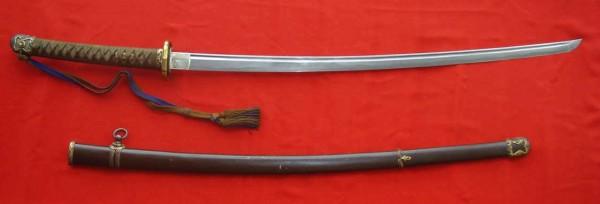 Японский меч син-гунто