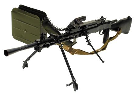 РП 46 - Ротный Пулемет образца 1946г. создан на базе ДПМ.