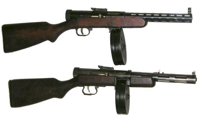 ПП конструкции Дегтярева 1938/40