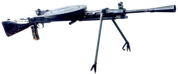 ДПМ - модернизация пулемета Дегтярева 1927г.