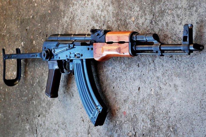 Преступники были вооружены автоматическим оружием