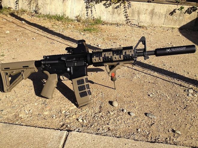 Модифицированная AR-15
