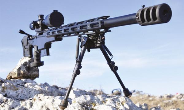 Снайперские винтовки изготавливают на киевском заводе «Маяк» гвинтівка VPR.308