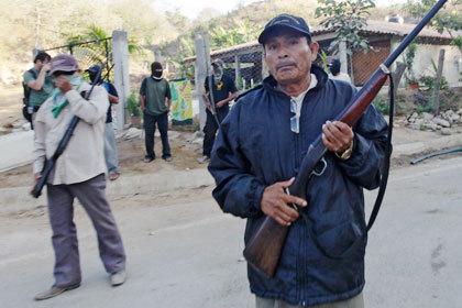 Мексиканские дружинники