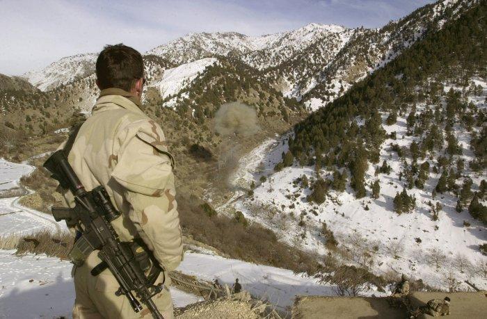 В горах Афганистана