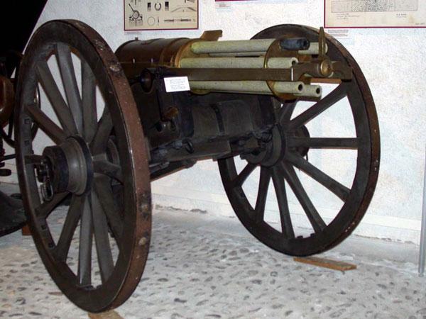 Пулемёт Гатлинга, 1862