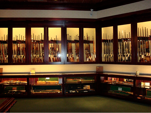 Some of the worlds most impressive personal gun displays