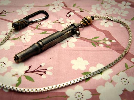 Ручки Хидетоши Накаяма с затвором и спусковым механизмом