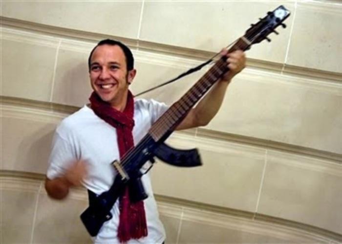Впечатляющие гитары  AK47 от DiResta