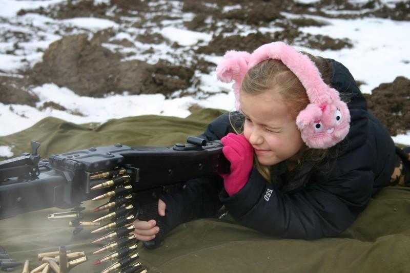 Оружие - детям не игрушка?