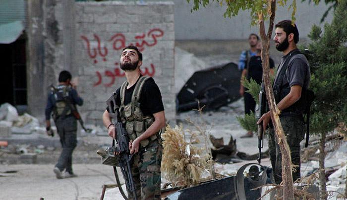 На стороне сирийских повстанцев воюет целый отряд крымчан.