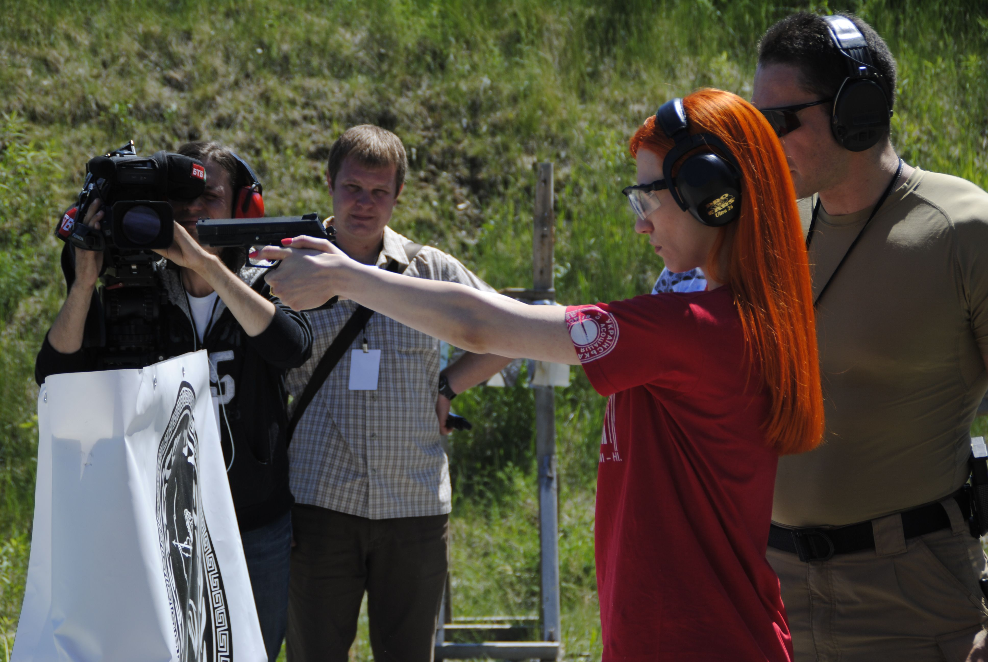 """Майстер-клас з прикладної стрільби з пістолету від Стрілецького клубу """"LEX"""""""