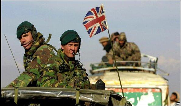 Британские войска