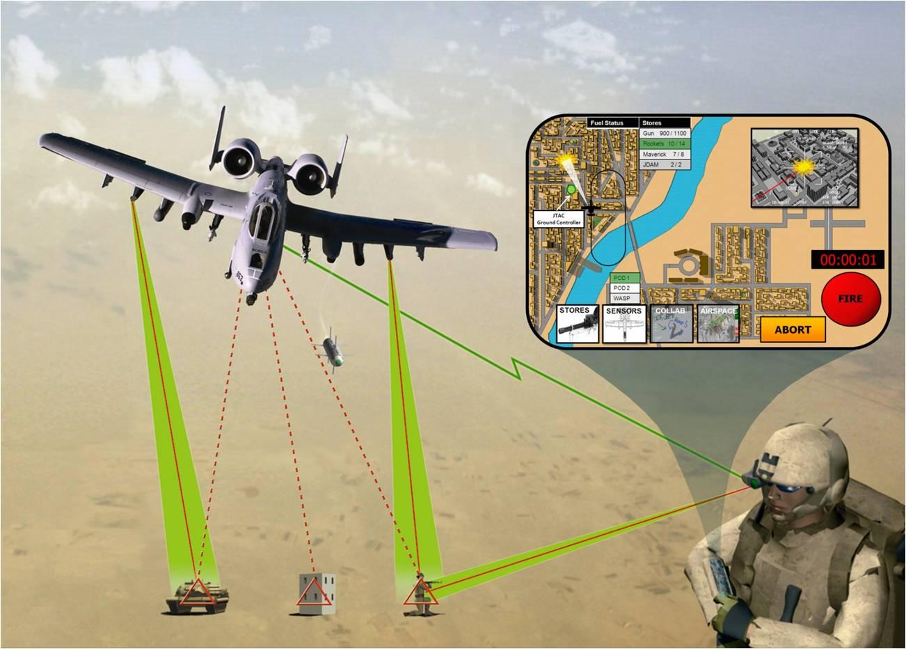 Android-планшет станет основой для песрпективной военной технологии, похожей на видеоигру