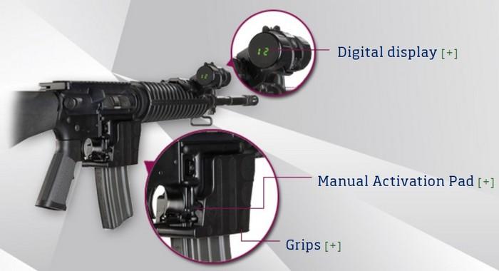 Цифровий лічильник набоїв для AR-15