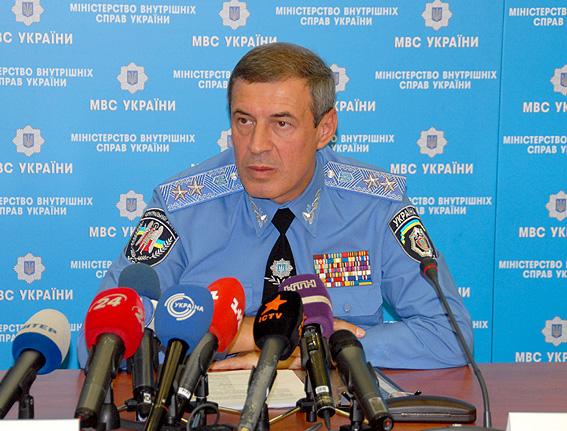 Начальник управления МВД в Днепропетровской области Виктор Бабенко