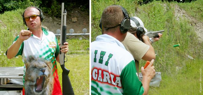 Тренировка по ружью