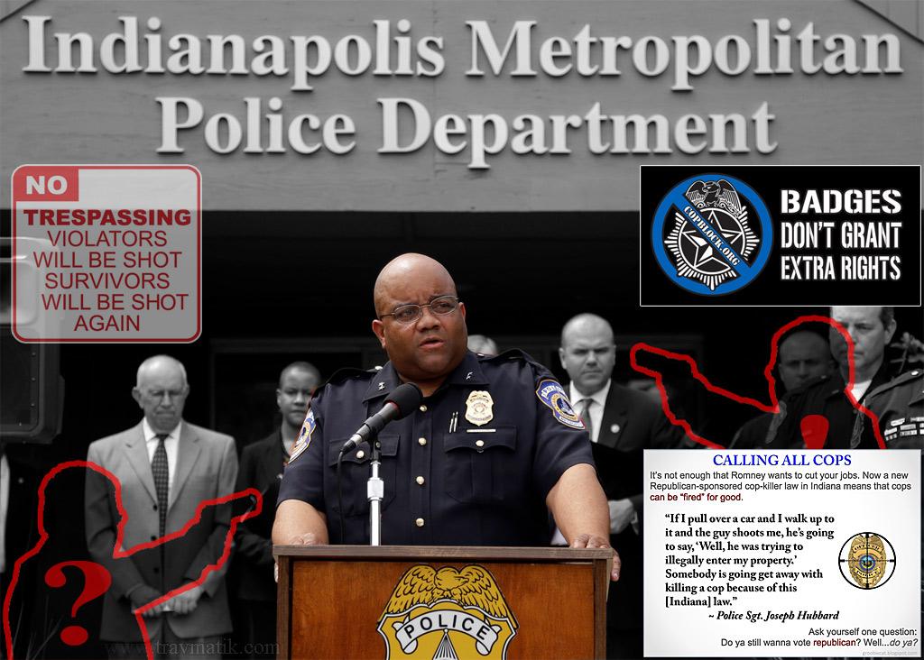 Лицензия на отстрел полицейских