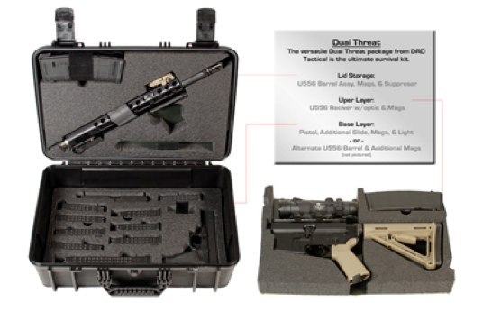 DRD Tactical U556 Take-Down Upper Kit Shipping Soon
