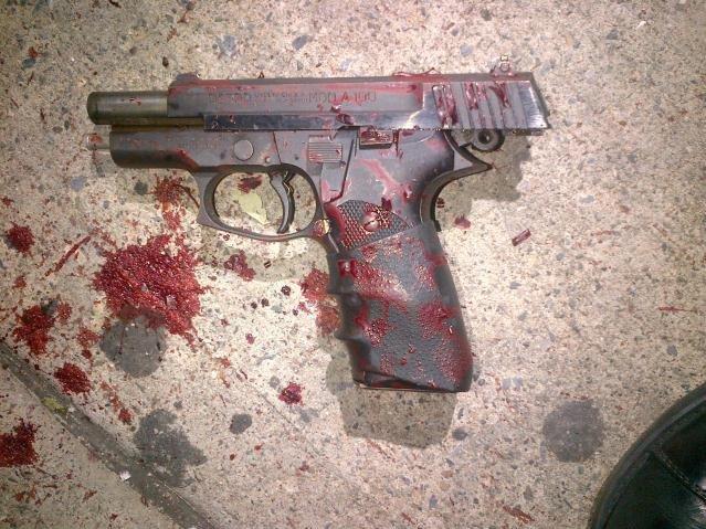 Пистолет убитого подростка