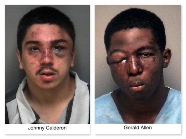Студенты избили книгами вооруженных грабителей