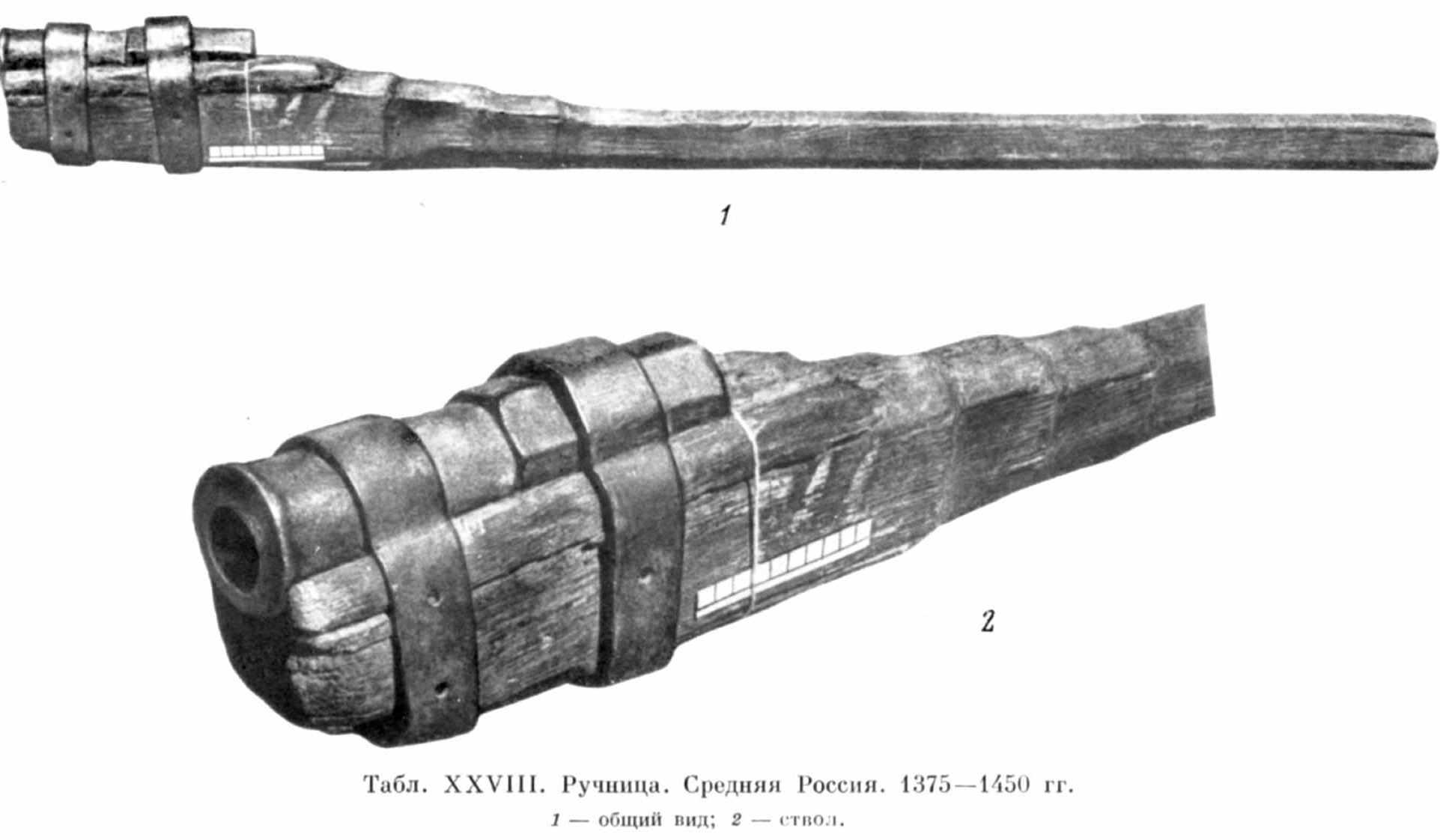 русские пищали и ручницы 16-17 века фото