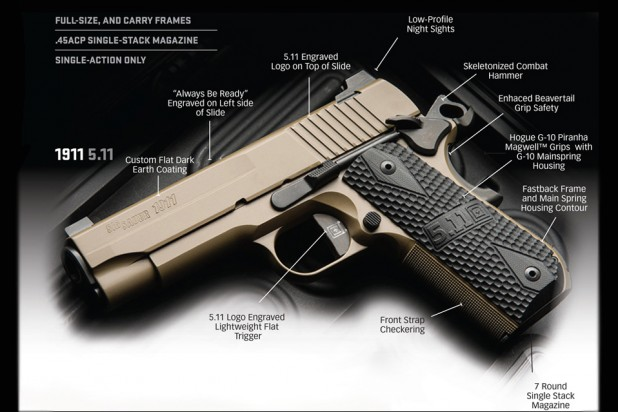 Sig Sauer Limited Edition 5.11 Tactical 1911