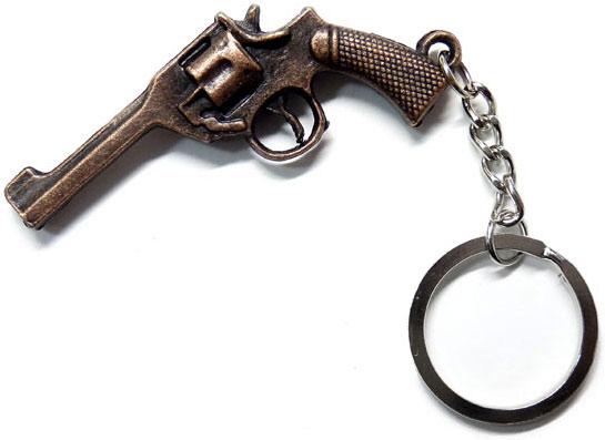 Брелок-револьвер