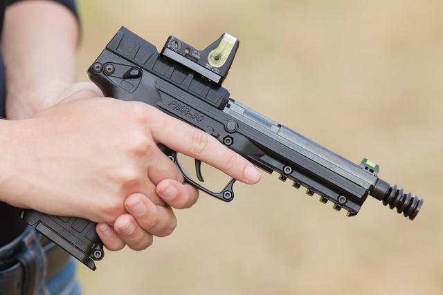 Коллиматор на пистолете Keltec PMR-30 (фото Олега Волка)