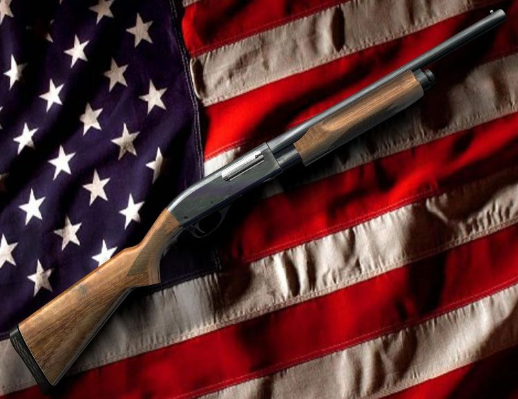 Remington 870 & Old Glory