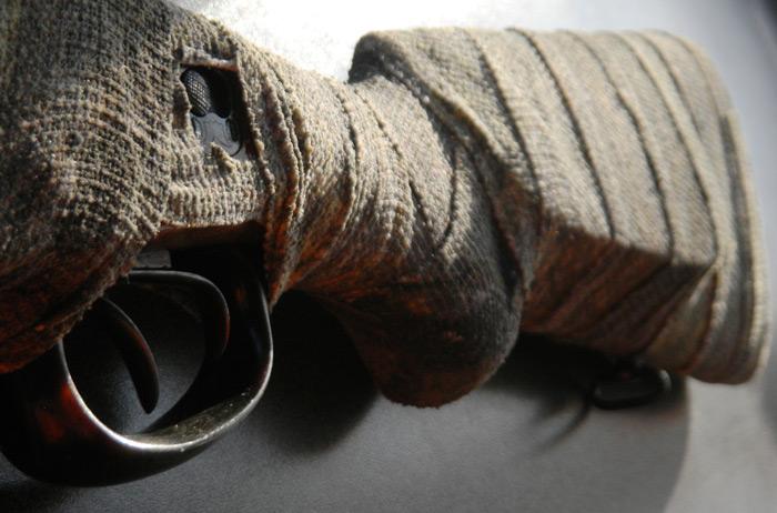 Обмотать холстом - или всё же мешковиной?