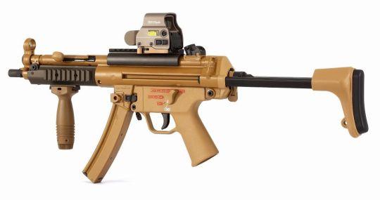 Модернизированный пистолет-пулемет MP5 MLI от Heckel & Koch