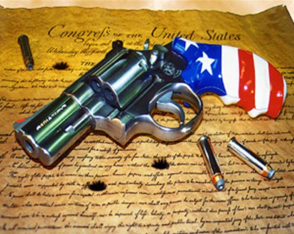 Американцам все же удалось отстоять основные положения Второй поправки к Конституции
