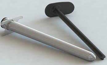 Аппликатор XStat-12 предназначен для лечения узких ран. Одноразовое устройство состоит из цилиндрического корпуса аппликатора со съемным поршнем. На аппликаторе имеются фланцы для