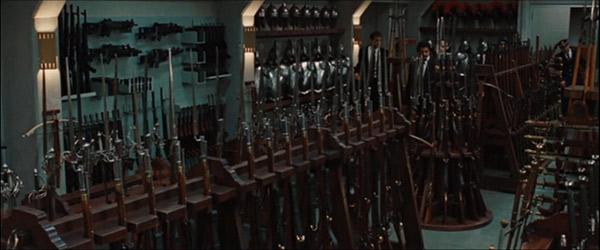 Макет арсеналу, використаний у фільмі «Ангели і демони».