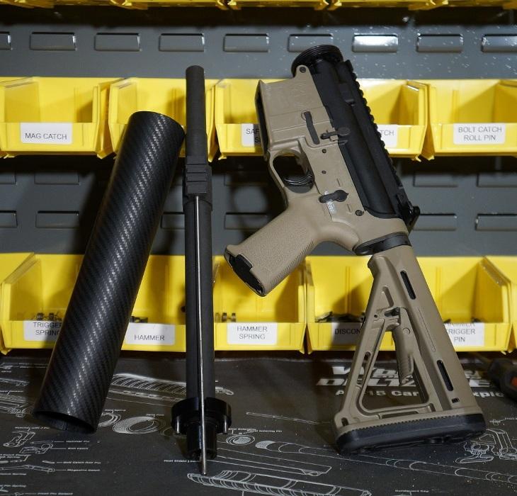 Новая разборная винтовка TNARMS-15