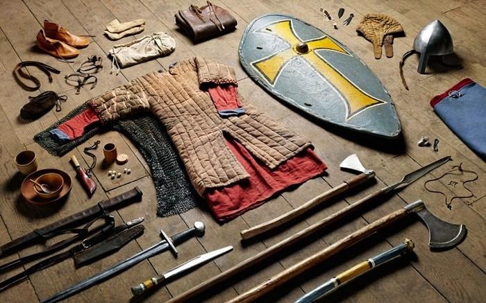 1. Рік 1066-й, охоронець короля, Битва при Гастінгсі.