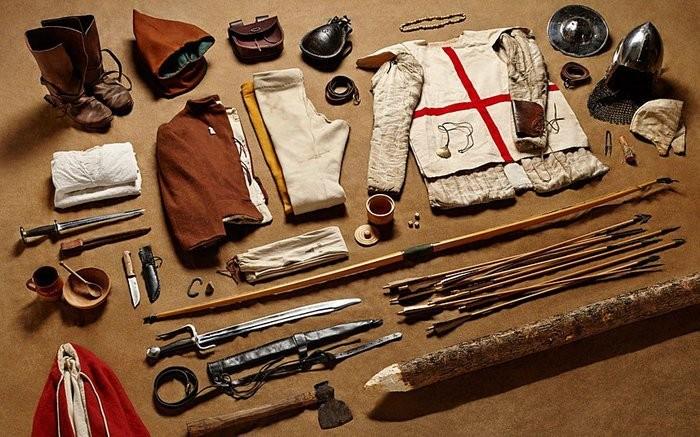 3. Рік 1415-й, бойовий лучник, Битва при Азенкурі.