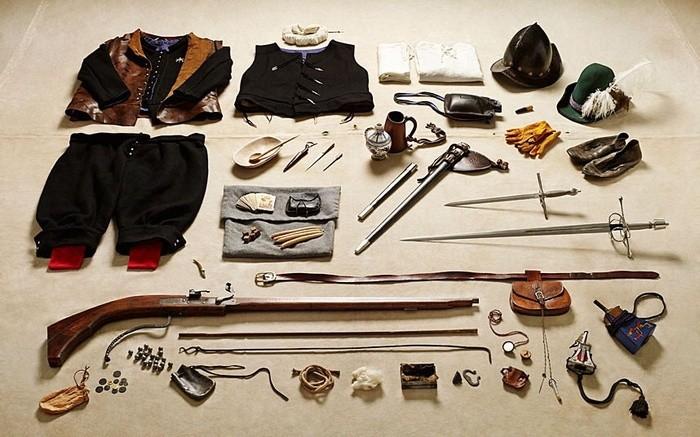 5. Рік 1588-й, солдат ополчення, Тілбері.