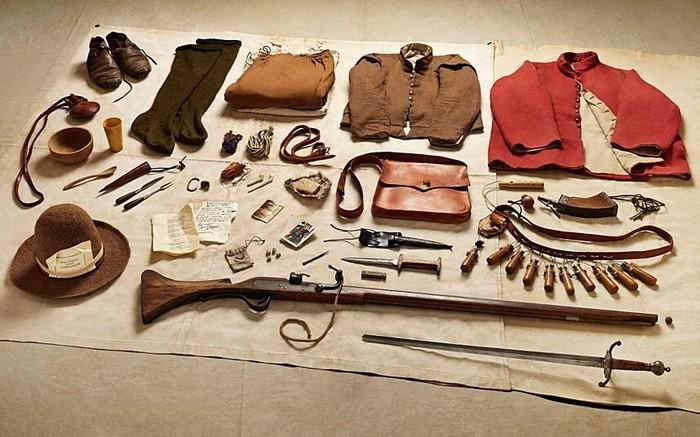 6. Рік 1645-й, мушкетер, Битва при Нейсбі.